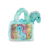 sea horse gift idea. Sea creature. Sea life soft toy. Cute little sea horse. Sea horse hand bag. Sea horse handbag for girls