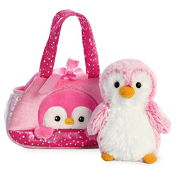 Fancy Pal Peek-a-Boo Penguin Pink