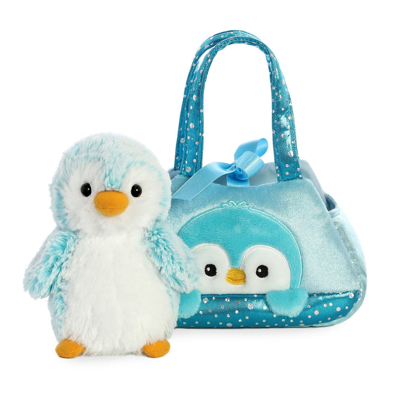 Fancy Pal Peek-a-Boo Penguin Blue - Aurora World LTD