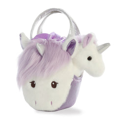 Fancy Pal Heather Unicorn Purple - Aurora World LTD