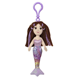 Sea Sparkles mermaid - Merissa - Backpack Clip - Aurora World LTD