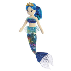 "Sea Sparkles mermaid - Indigo - 18"" - Aurora World LTD"
