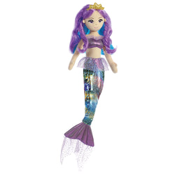Sea Sparkles mermaid- Rainbow Violet - Aurora World LTD