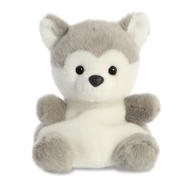 Palm Pals Busky Husky Dog Soft Toy - Aurora World LTD
