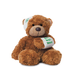 Get well soon gift - teddy bear for someone who is feeling poorly
