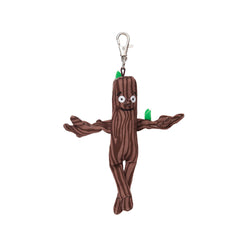 Stick man keyring