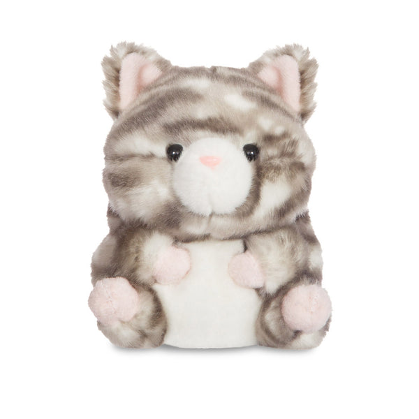Rolly Pets Lucky Grey Tabby Cat - Aurora World LTD