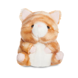 Rolly Pets Poppy Orange Tabby Cat 5In