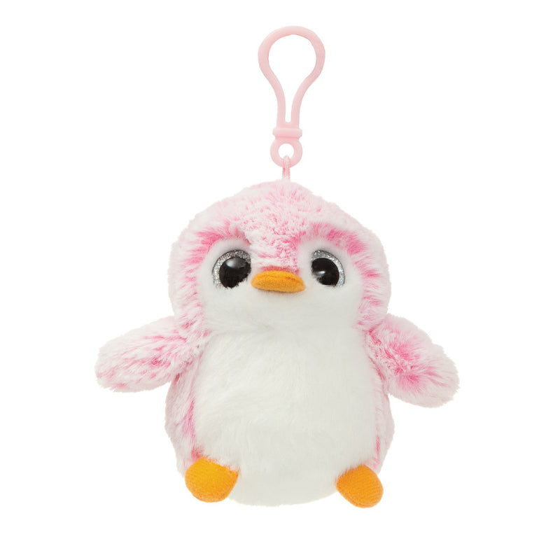 PomPom Backpack Clip Pink - Aurora World LTD