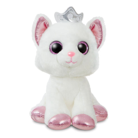 White cat soft toy