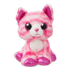 Sparkle Tales Crystal Pink Cat 7In