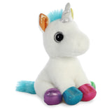 Sparkle Tales - Jewel the  unicorn soft toy - Aurora World LTD