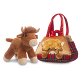 Fancy Pal Peek-a-Boo Hamish Highland Cow