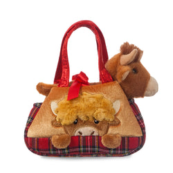 Fancy Pal Peek-a-Boo Hamish Highland Cow - Aurora World LTD