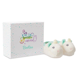 Lil' Sparkle Baby Unicorn Booties + Gift Box - Aurora World LTD