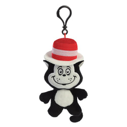 Cat in the Hat Key Clip 4""