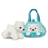 Fancy Pal Peek-a-Boo Polar Bear - Aurora World LTD