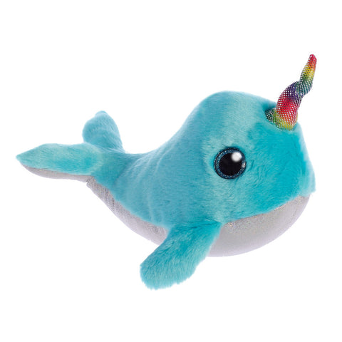 Sparkle Tales Coral Narwhal