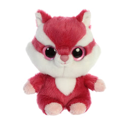Chewoo the Red Squirrel from the YooHoo collection soft toy – 5 inches - Aurora World LTD