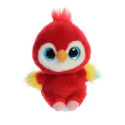 Lora the Parrot from the YooHoo collection soft toy – 5 inches - Aurora World LTD