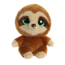 Slo the Sloth from the YooHoo collection soft toy – 5 inches - Aurora World LTD