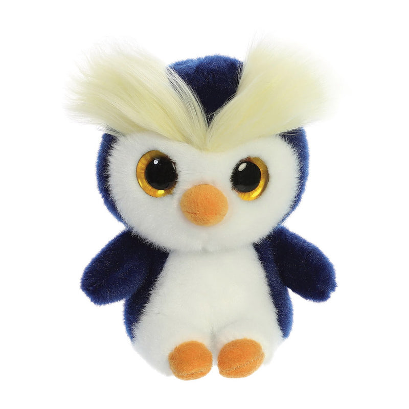 Skipee the Rockhopper Penguin from the YooHoo collection soft toy – 5 inches - Aurora World LTD