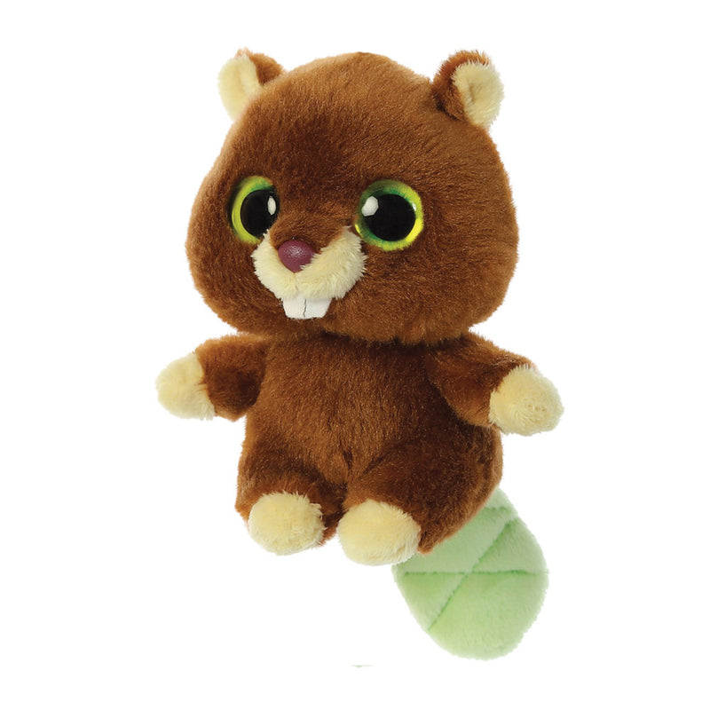Trevor the Beavor from the YooHoo collection soft toy – 5 inches - Aurora World LTD