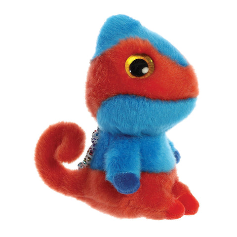 Cammee the Chameleon from the YooHoo collection soft toy – 5 inches - Aurora World LTD