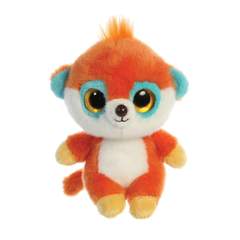 Pookee the Meerkat from the YooHoo collection soft toy – 5 inches - Aurora World LTD