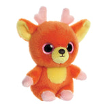 Jolley the Reindeer from the YooHoo collection soft toy – 5 inches - Aurora World LTD