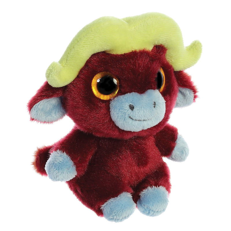 Stompee the Buffalo from the YooHoo collection soft toy – 5 inches - Aurora World LTD