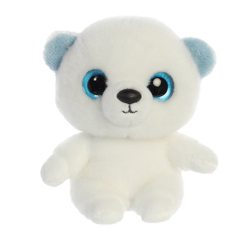 Martee the Polar Bear from the YooHoo collection soft toy – 5 inches - Aurora World LTD