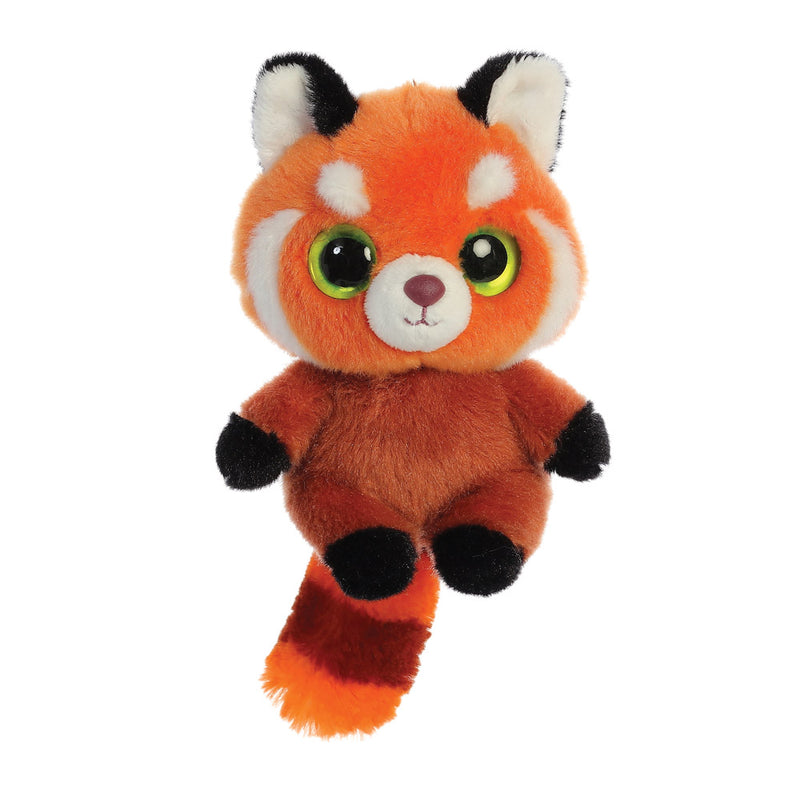 Hapee the Red Panda from the YooHoo collection soft toy – 5 inches - Aurora World LTD