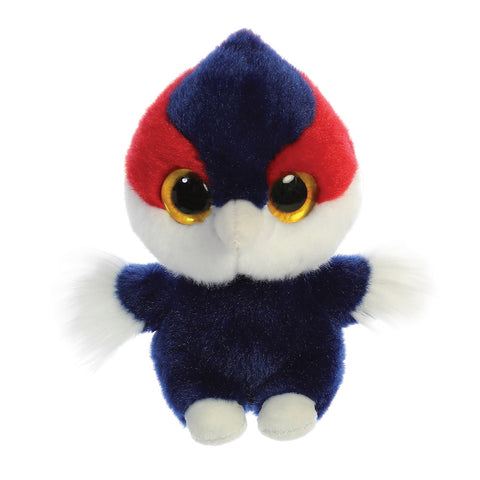 Cody the Woodpecker from the YooHoo collection soft toy – 5 inches - Aurora World LTD