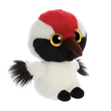 Alvin the Whooping Crane from the YooHoo collection soft toy – 5 inches - Aurora World LTD