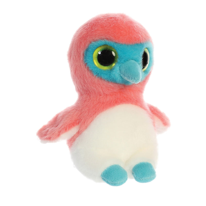 Bleu the blue-Footed Sula from the YooHoo collection soft toy – 5 inches - Aurora World LTD