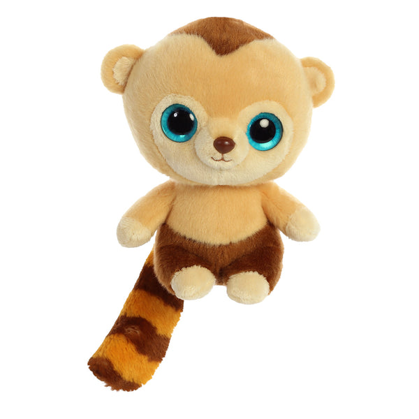 Roodee the Capuchin Monkey from the YooHoo collection soft toy – 8 inches - Aurora World LTD