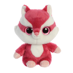 Chewoo the Red Squirrel from the YooHoo collection soft toy – 8 inches - Aurora World LTD