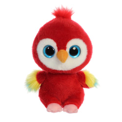 Lora the Parrot from the YooHoo collection soft toy – 8 inches - Aurora World LTD