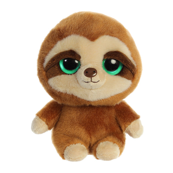 Slo the Sloth from the YooHoo collection soft toy – 8 inches - Aurora World LTD