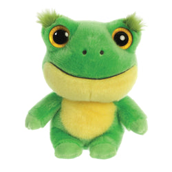 Acha the Frog from the YooHoo collection soft toy – 8 inches