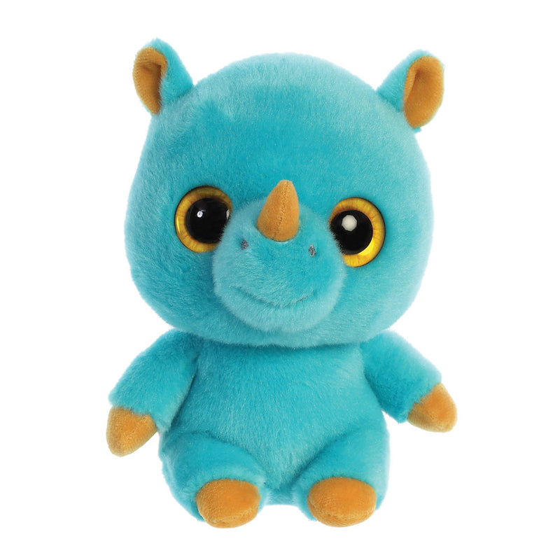 Rino the  Rhinocereos from the YooHoo collection soft toy – 8 inches - Aurora World LTD