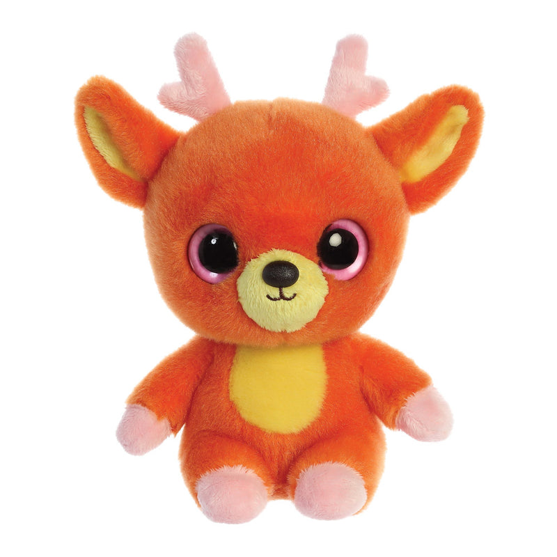 Jolley the Reindeer from the YooHoo collection soft toy – 8 inches - Aurora World LTD