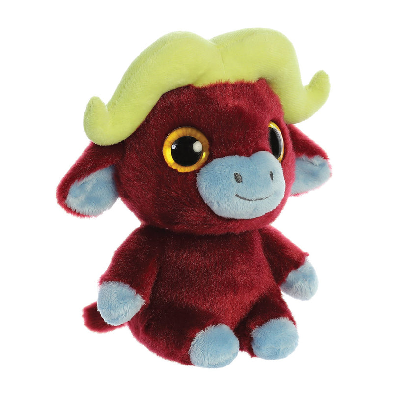 Stompee the Buffalo from the YooHoo collection soft toy – 8 inches - Aurora World LTD