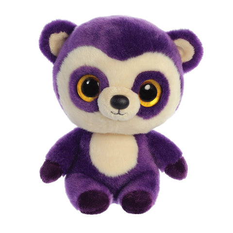 Ricky the Spectacled Bear  from the YooHoo collection soft toy – 8 inches - Aurora World LTD