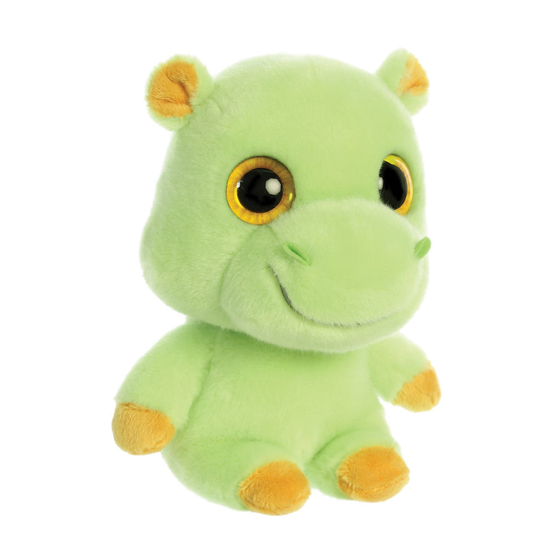 Tamoo the Hippopotamus from the YooHoo collection soft toy – 8 inches - Aurora World LTD