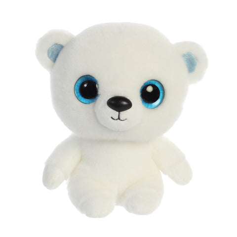 Martee the Polar Bear from the YooHoo collection soft toy – 8 inches - Aurora World LTD