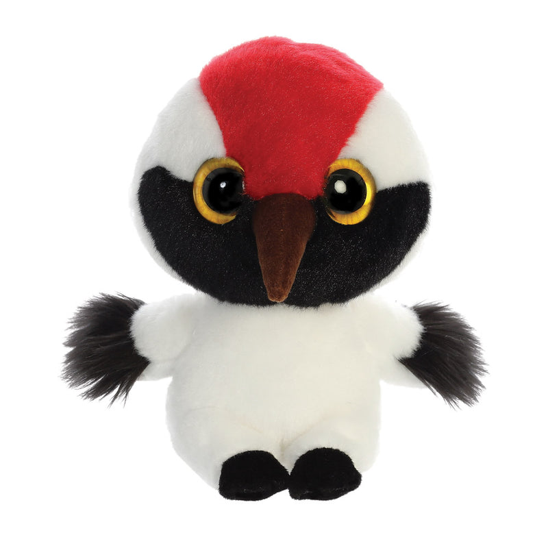 Alvin the Whooping Crane from the YooHoo collection soft toy – 8 inches - Aurora World LTD