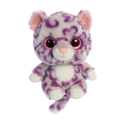 Alisha the Snow Leopard from the YooHoo collection soft toy – 8 inches