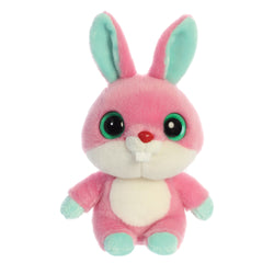 Betty the Rabbit  from the YooHoo collection soft toy – 8 inches - Aurora World LTD